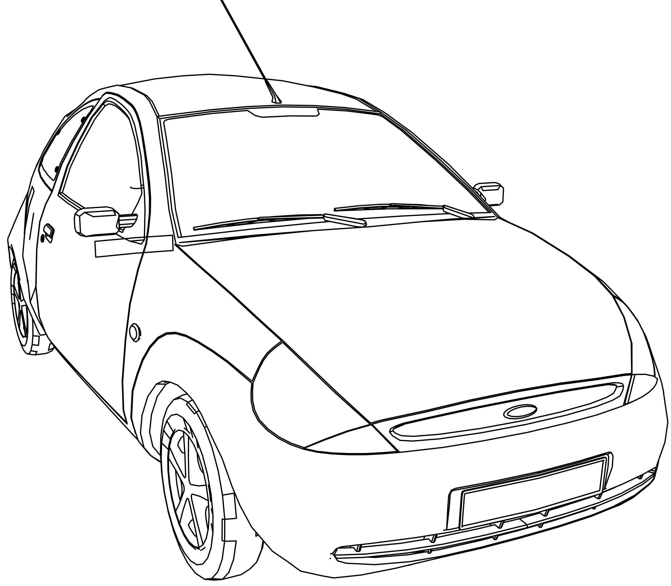 Awesome Ford Ka Coloring Page Car Coloring Pages Bible Coloring