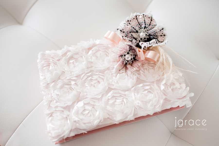 Chanel Inspired Wedding Invitation