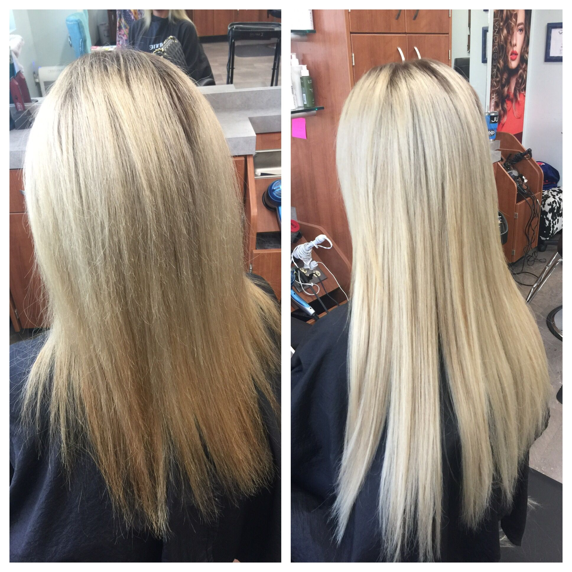 Platinum Frosty Ice Blonde And Extensions Great Lengths Hair