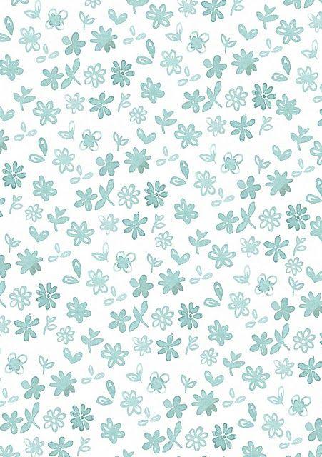 Blue Cute Flowers Iphone Wallpaper Http Iphonetokok Infinity Hu Http Xperiatokok Infinity Hu Http Htctoko Cute Blue Wallpaper Prints Paper Background
