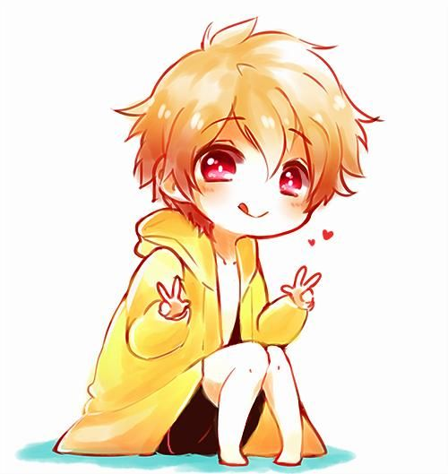 Cute Little Nagisa Chibi Chibi Boy Anime