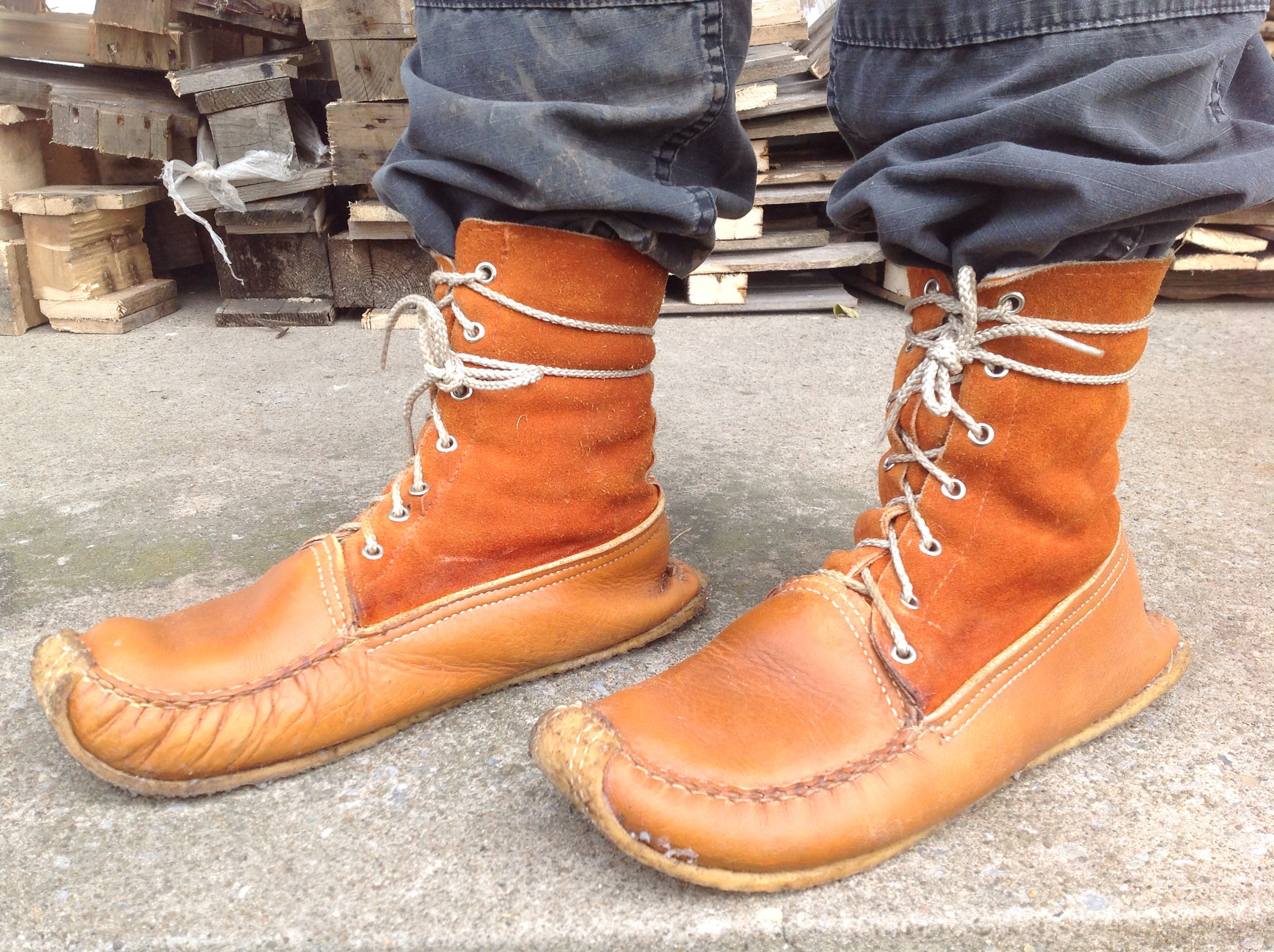 Ultimate Bushcraft boots. Made in