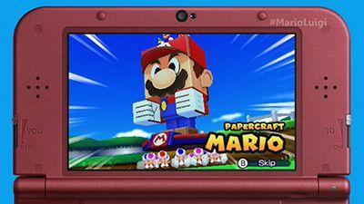 Mario & Luigi Paper Jam ⊟Releasing for 3DS in Spring 2016!...