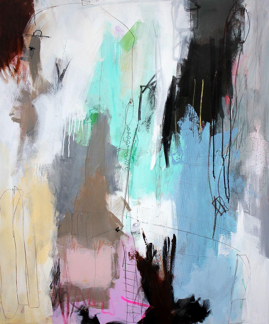 Nye Malerier Har Set Dagens Lys Malerier Abstrakte Malerier Abstrakt