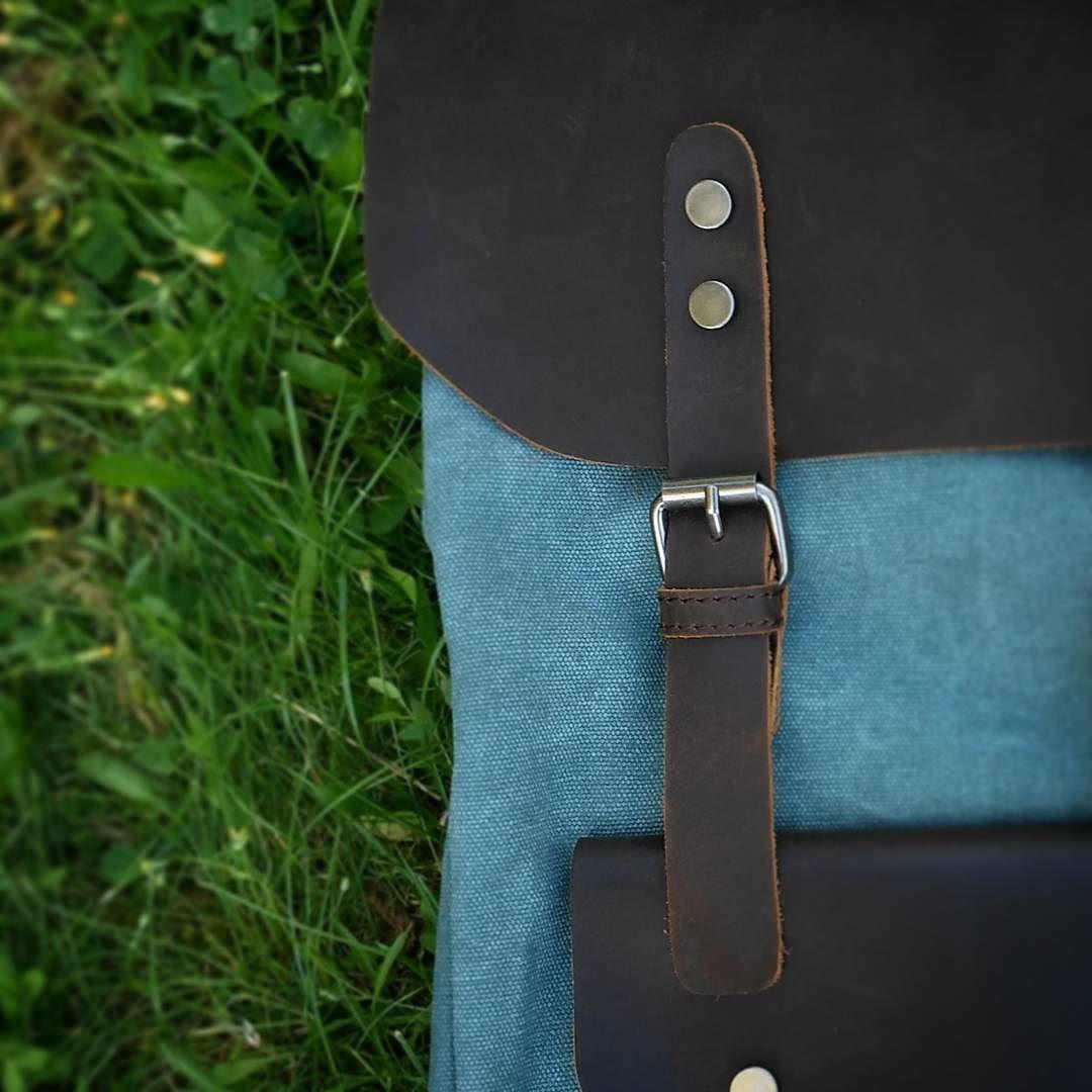 Genuine Leather and Canvas  NORDLICHT  www.nordlichtbags.de  #Nordlicht #tasche #genuineleather #leather #canvas #nordlichtbags #bags #Tasche #summer2016 #leatherbags #backpack #rucksack #vintage #umhängetasche