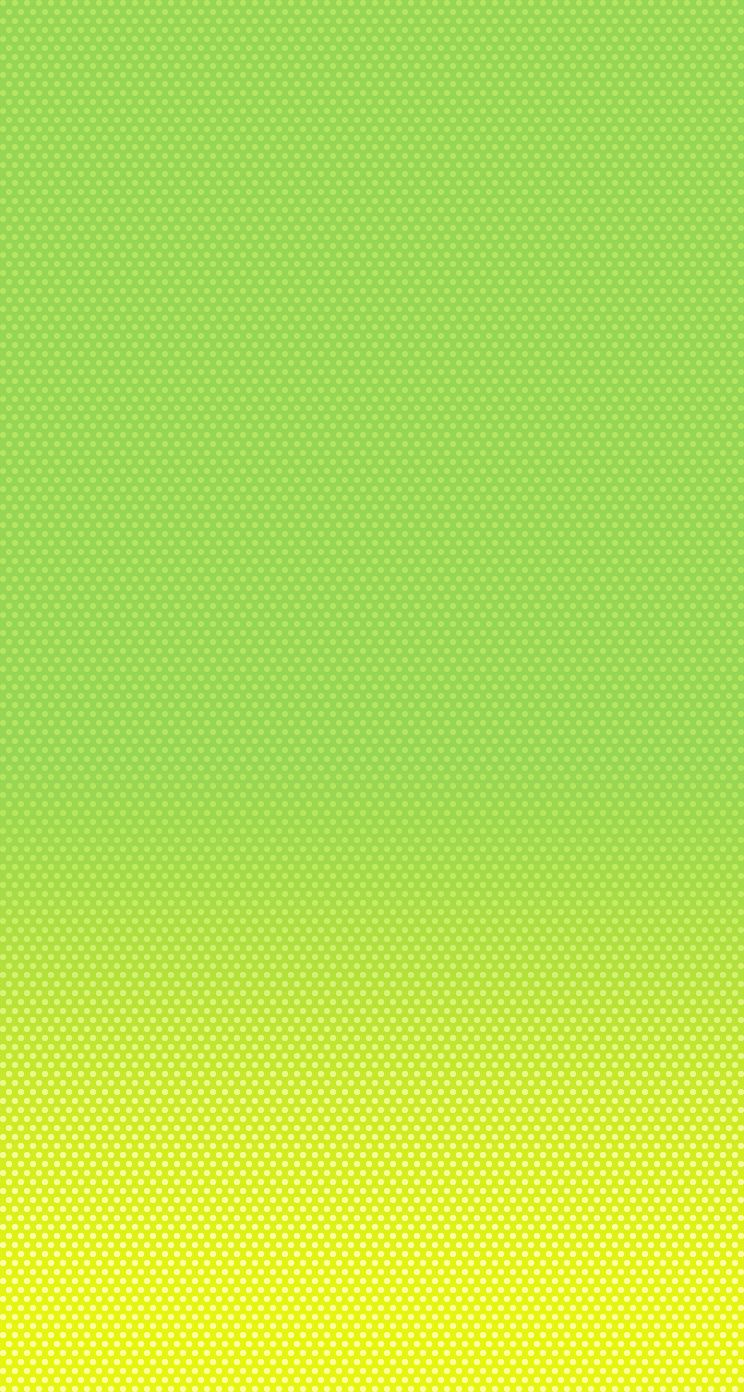 iPhone 5 Wallpaper iOS7 green yellow iphone5c | Color ...