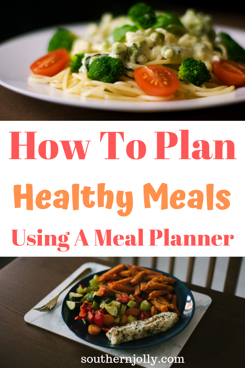How To Plan Healthy Meals Using A Meal Planner images