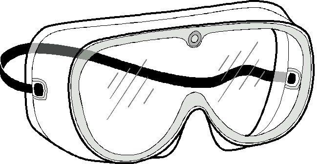 Safety Goggles Science Tools Safety Goggles Coloring Pages