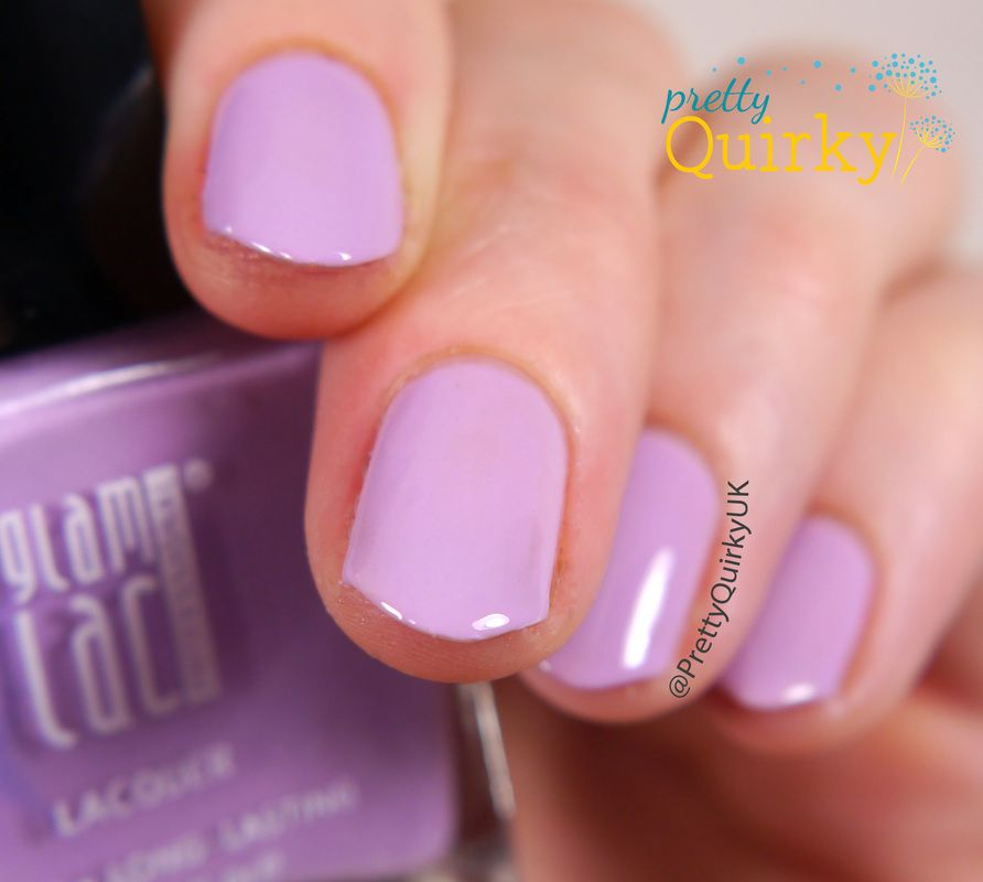 Orchid Dream by Glam Lac - a lilac coloured creme nail polish