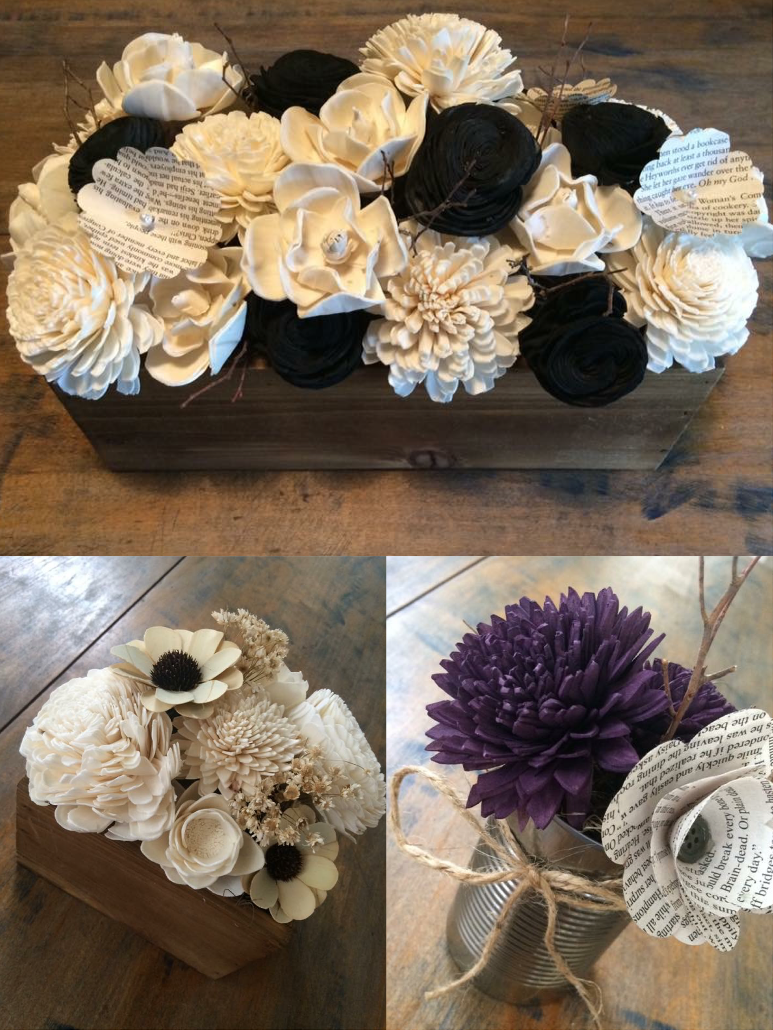 Craft with sola wood flowers easily make home and wedding decor craft with sola wood flowers easily make home and wedding decor diy centerpieces bouquets and up cycled gifts izmirmasajfo