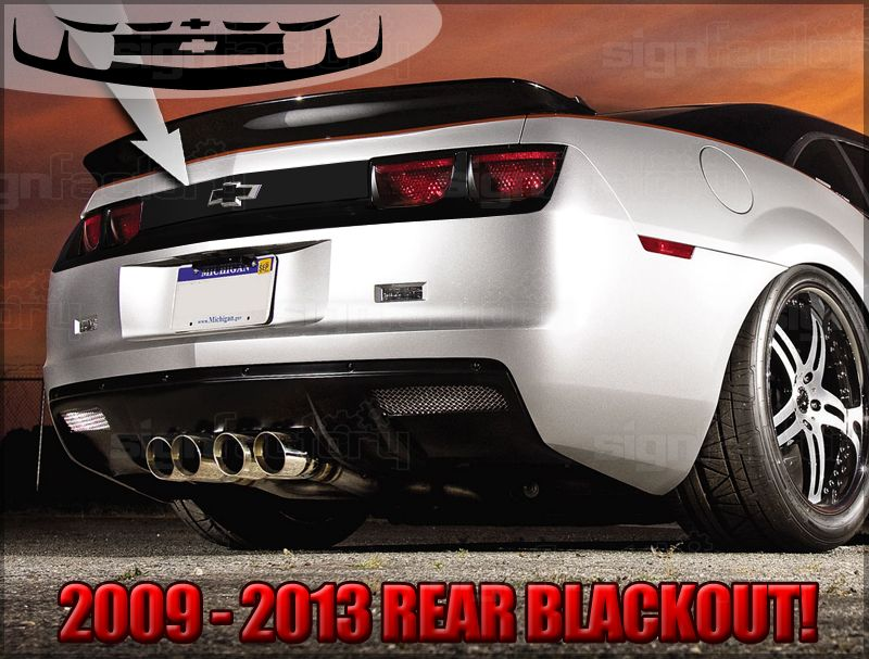 CME Rear Diffuser (Revolution Styling) Chevy vehicles