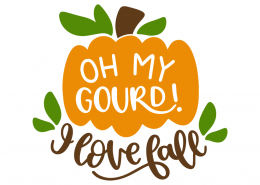 Download Oh my gourd! I love fall (With images) | Cricut, Free svg ...