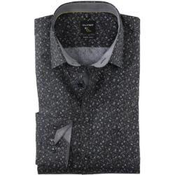 Photo of Olymp No. Six shirt, super slim, urban kent, black, 41 Olymp