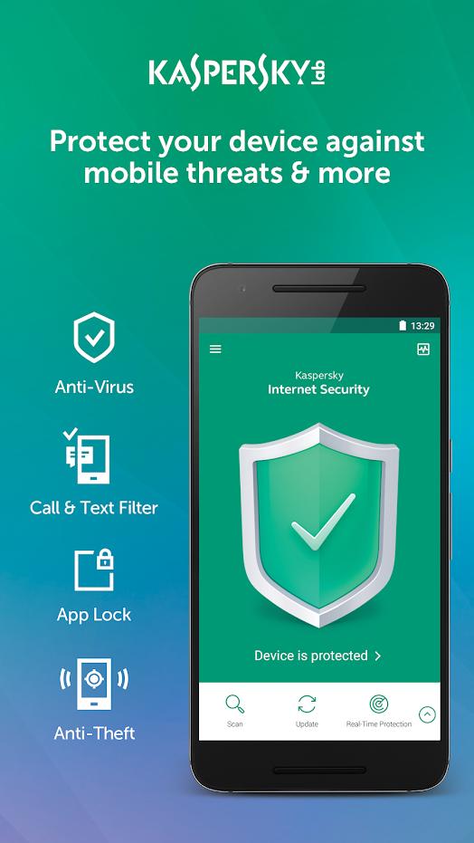 Top 10 Best Android Apps — Antivirus — September 2018