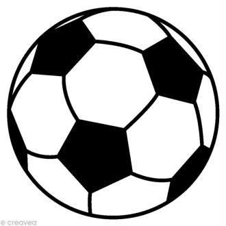 tampon sport ballon de foot 2 5 x 2 5 cm football pinterest ballon d 39 or boutiques and. Black Bedroom Furniture Sets. Home Design Ideas