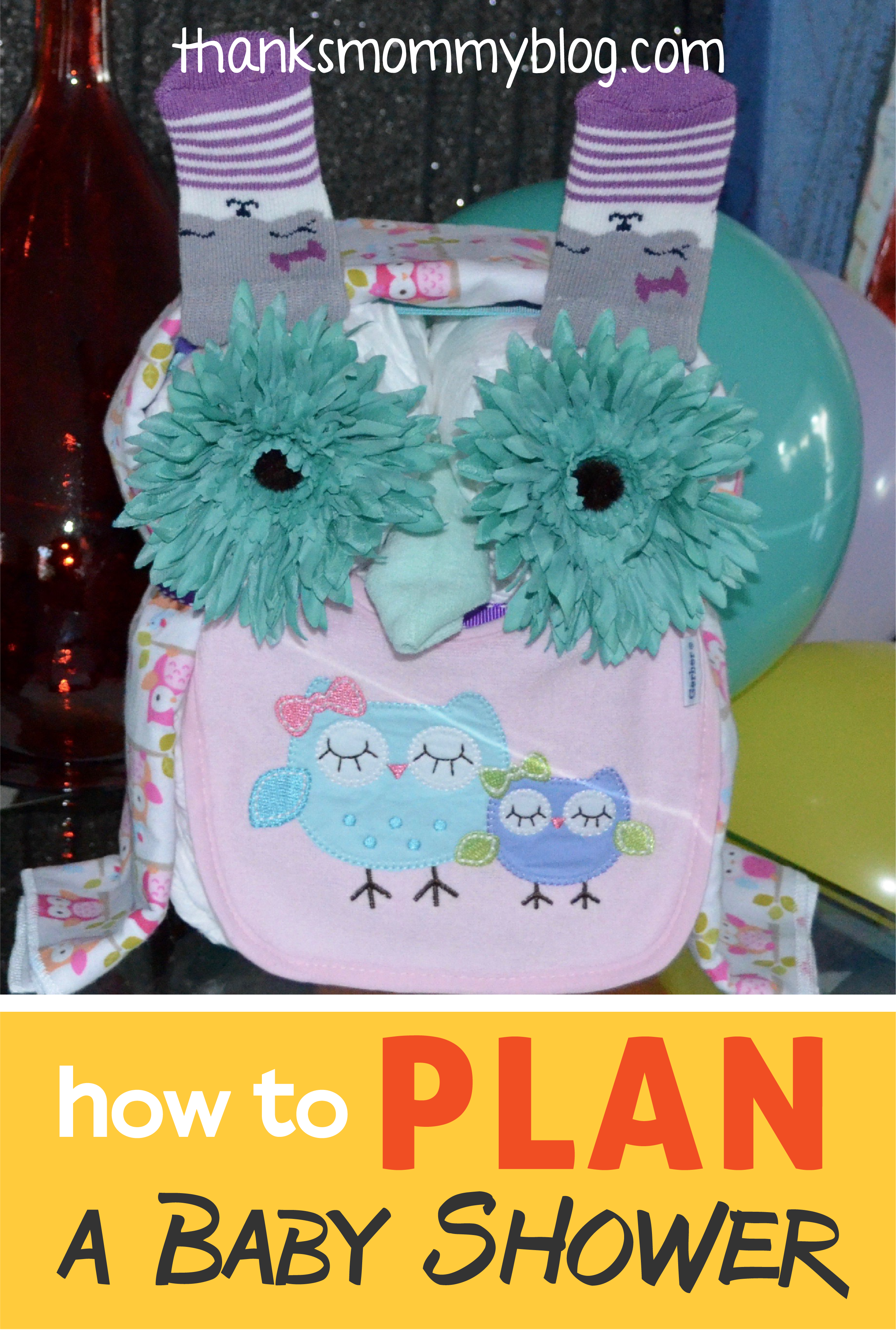 How to Plan a Baby Shower + free printable