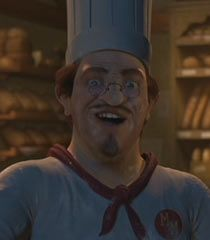 The Muffin Man Was The Creator Of Gingy He First Appears In Shrek