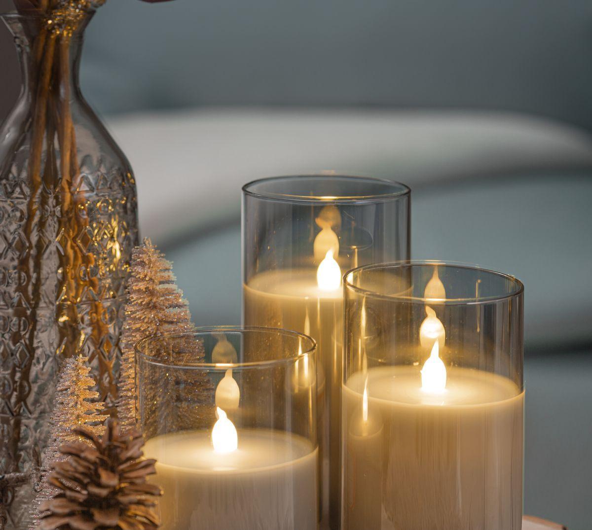 Wunderschone Weihnachtsdeko Mit Led Kerzen Schaffen Edles