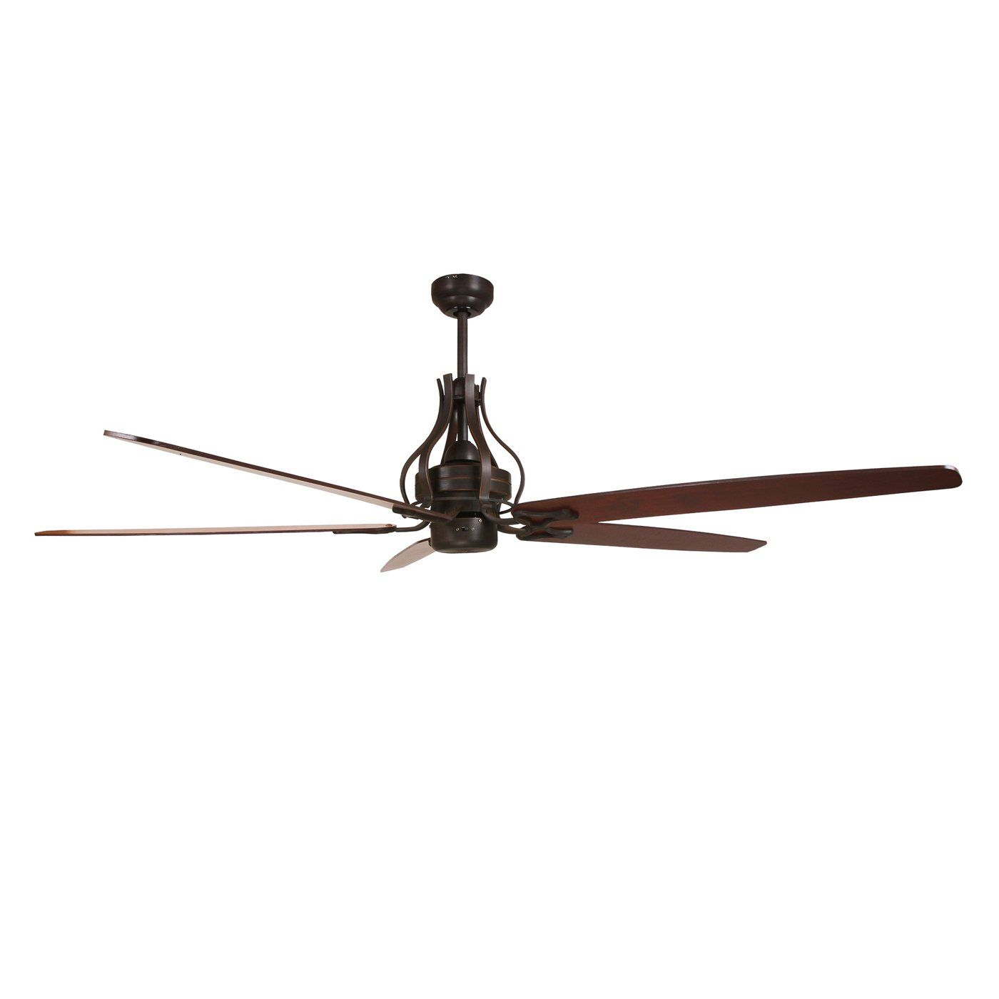 Yosemite Home Decor WHITAKER ORB NLK 70 In Ceiling Fan with 80 In