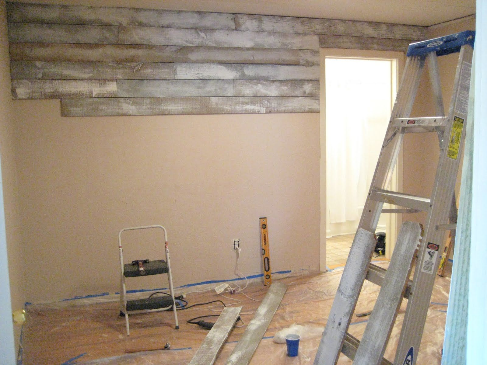 {The Smith Nest} Bedroom Makover Part III, Accent Wall
