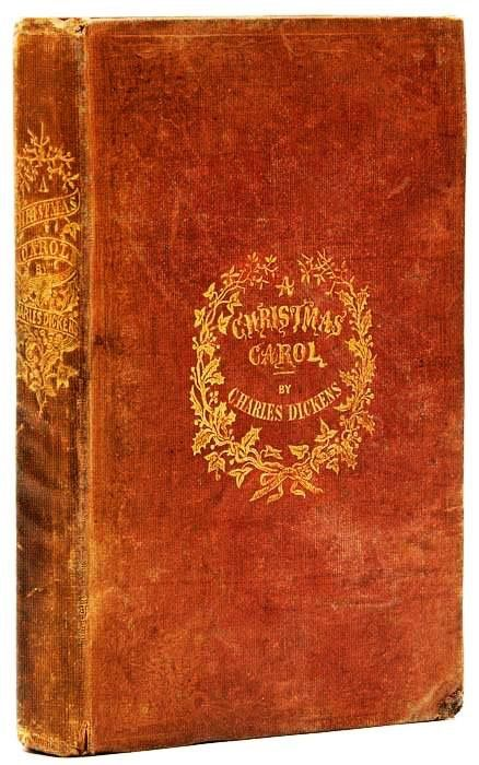 a christmas carol by charles dickens first edition first issue published by chapman and hall on 19 december 1843 - When Was A Christmas Carol Published