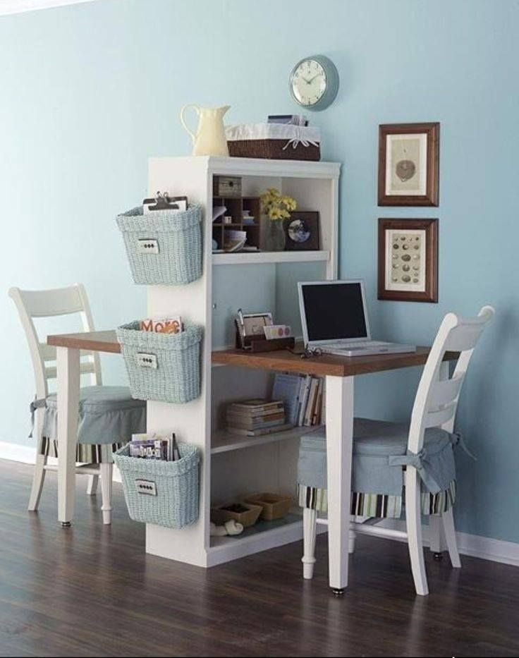 This Is A Cute Office Idea For Small House