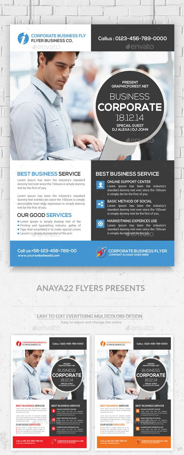 Global Business Flyer Templates  Business Flyer Templates