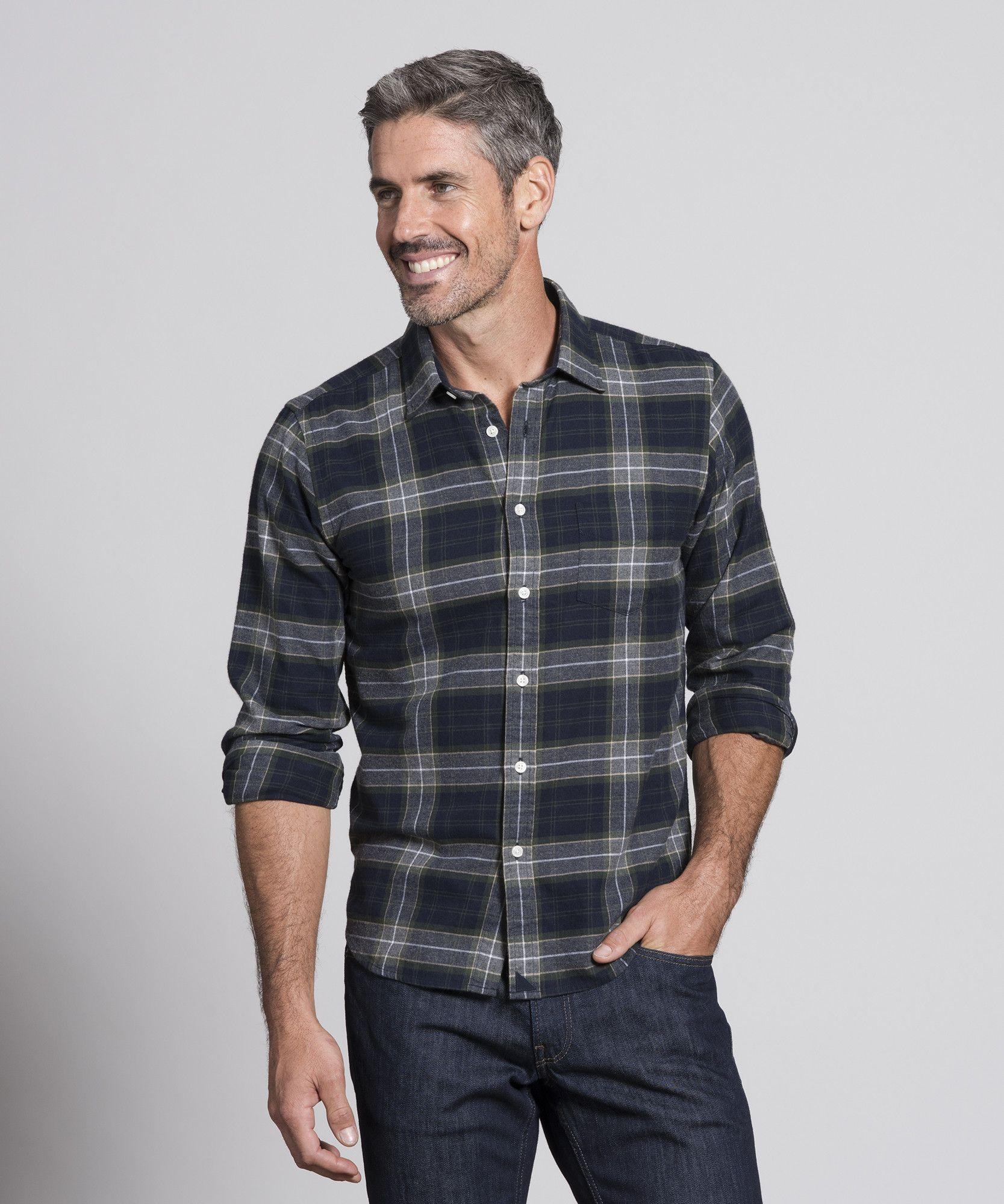 Argiano Mens travel style, Mens shirts, Plaid flannel shirt