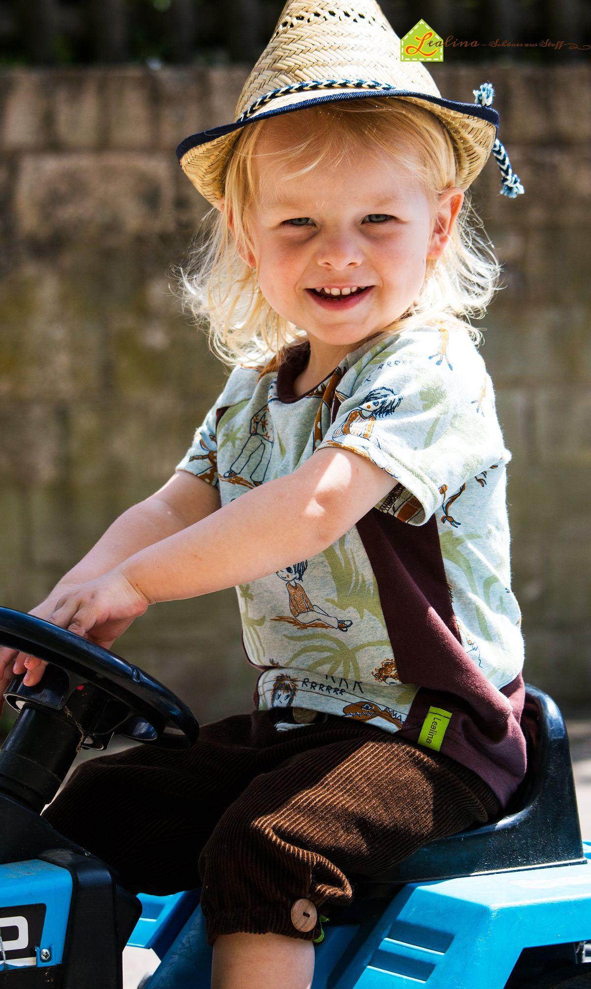 Ein Casual Raglan Mini Shirt (#SaraJulez) aus dem tollen DinoTraum Jersey von #lillestoff (Design: #susalabim)