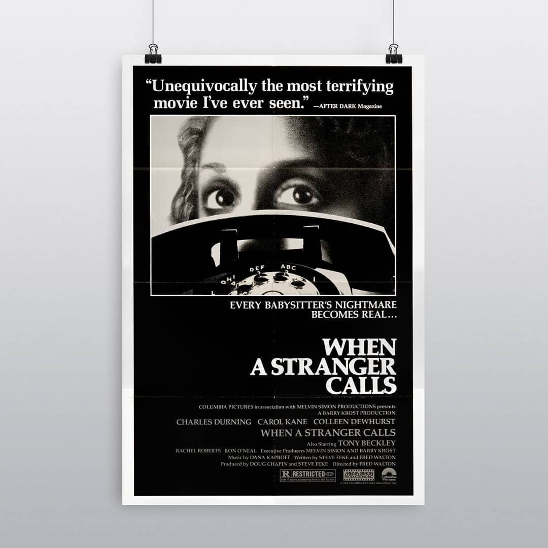 When A Stranger Calls When A Stranger Calls Terrifying Movies Stranger