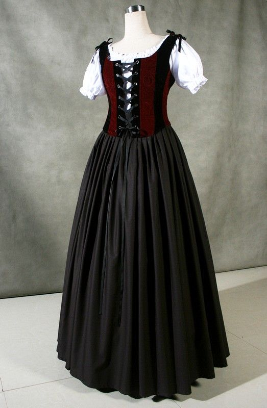 Ladies Medieval Tudor Wench Costume Size 10 12 Complete Costumes Costume Hire In 2020 Medieval Dress Renaissance Dresses Renaissance Clothing
