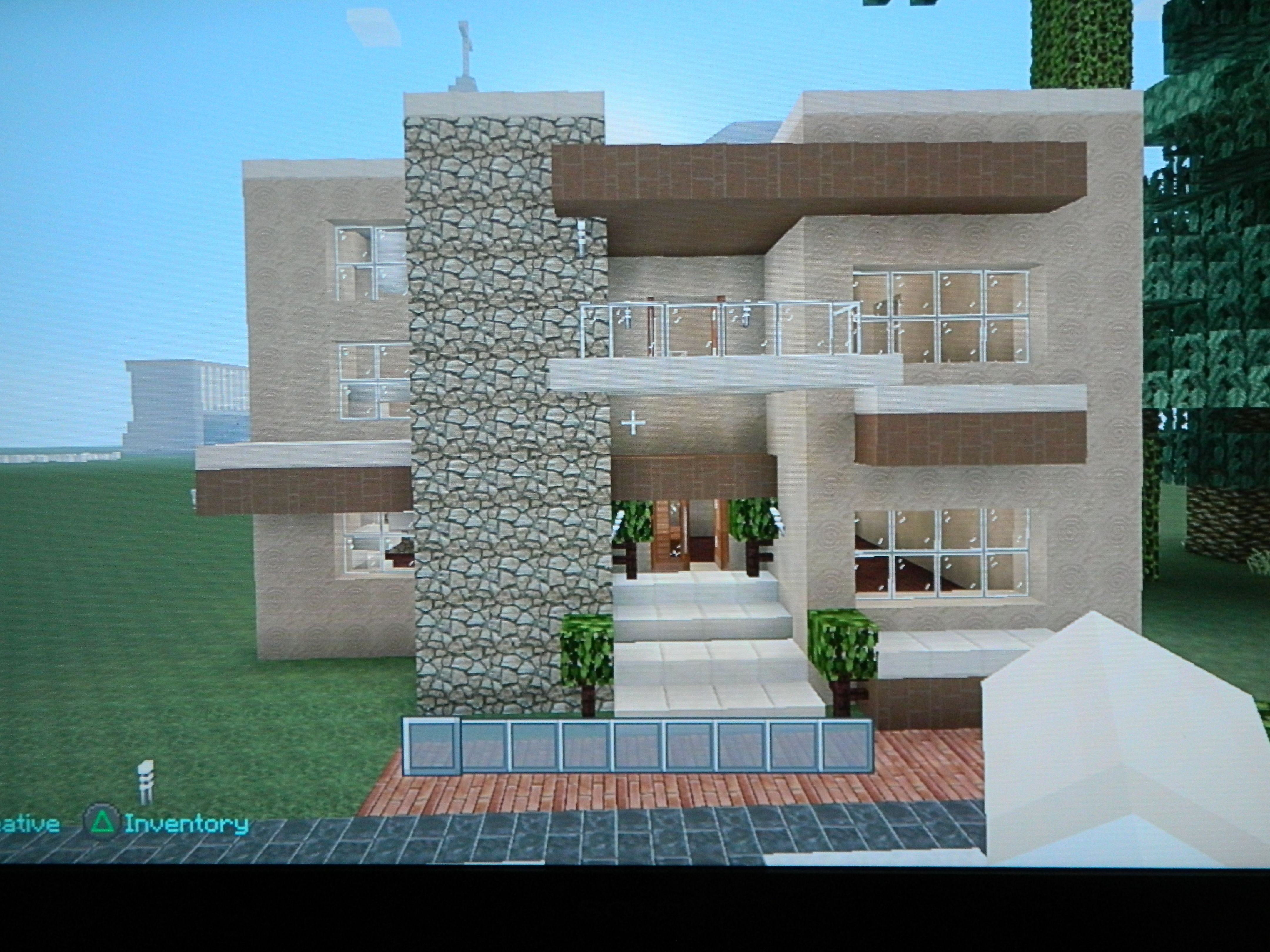 Sandstone house  Sand house, Minecraft houses for girls