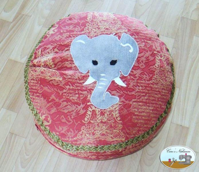 Bodenkissen selber machen  Zirkuskissen | Bodenkissen, Sitzkissen und Fröhlich