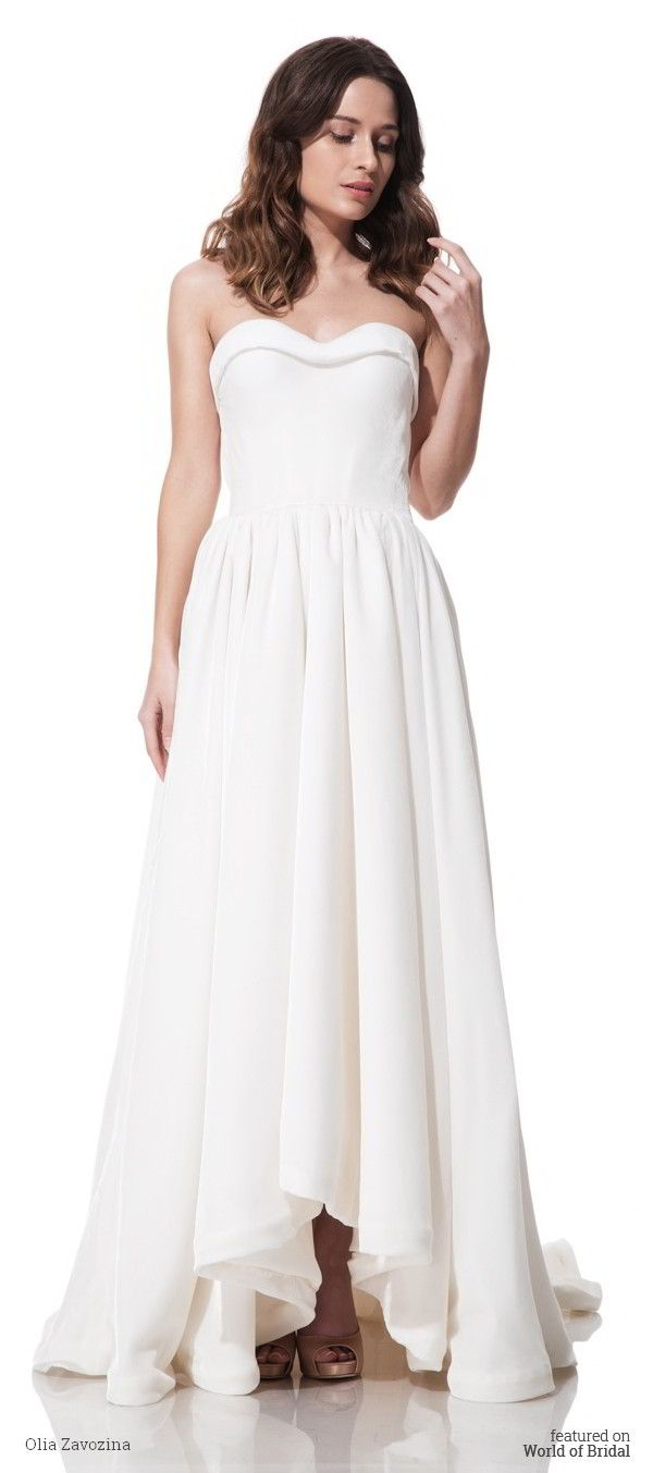 Olia zavozina fall wedding dresses train band tea length and