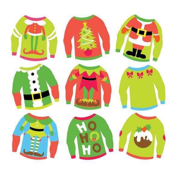 36+ Ugly sweater clipart border ideas in 2021