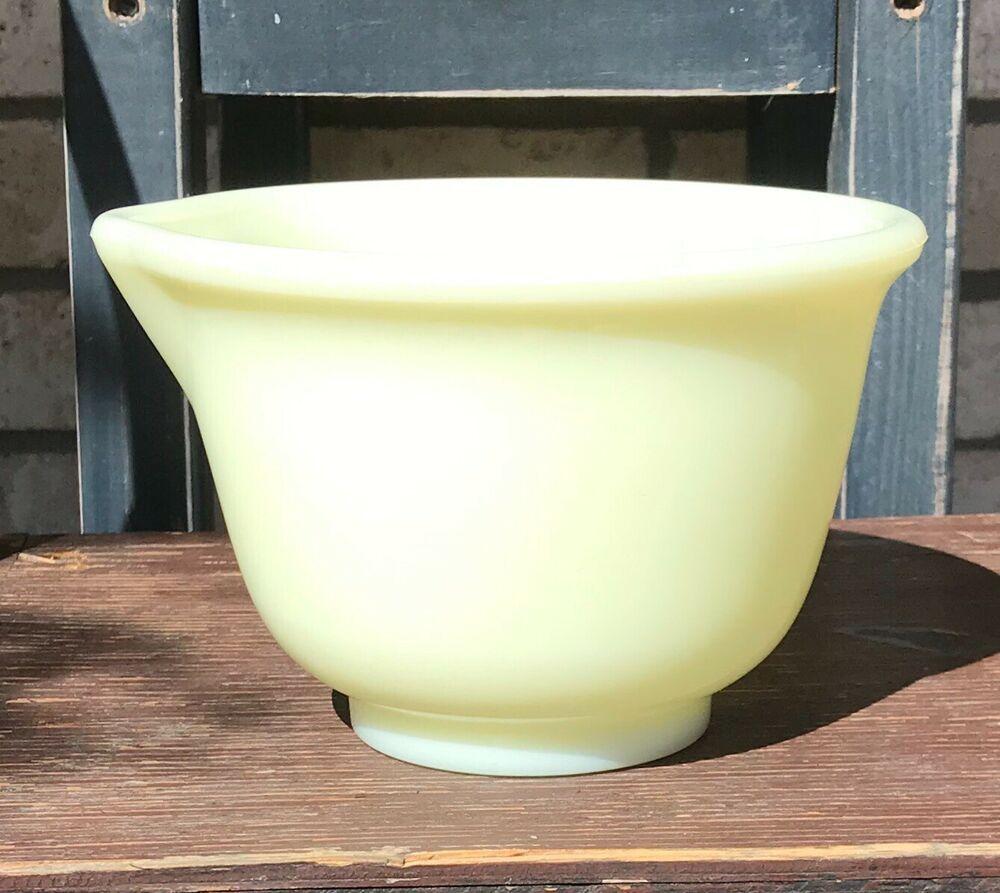 Farmhouse Vintage Hamilton Beach Custard Mixing Bowl Cottage Custard Mixing Bowl Farm Kitchen Hamilton Beach Mixer Yellow Mixing Bowl