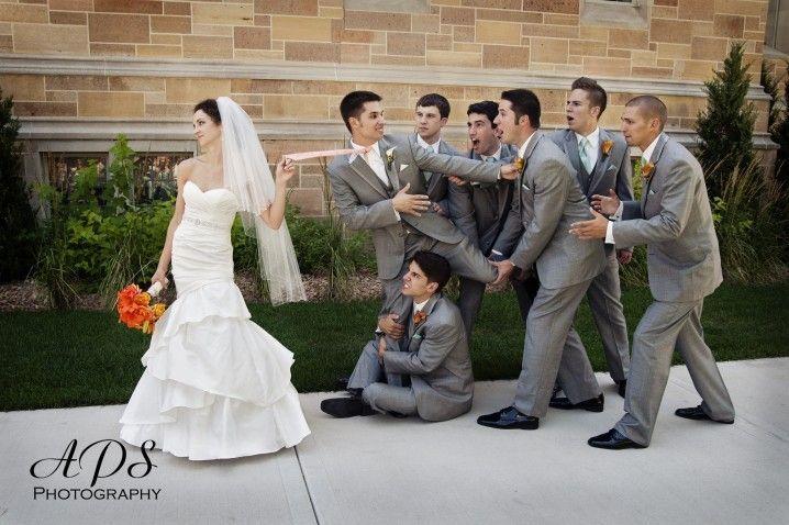 Die lustigsten Hochzeitsfoto-Ideen