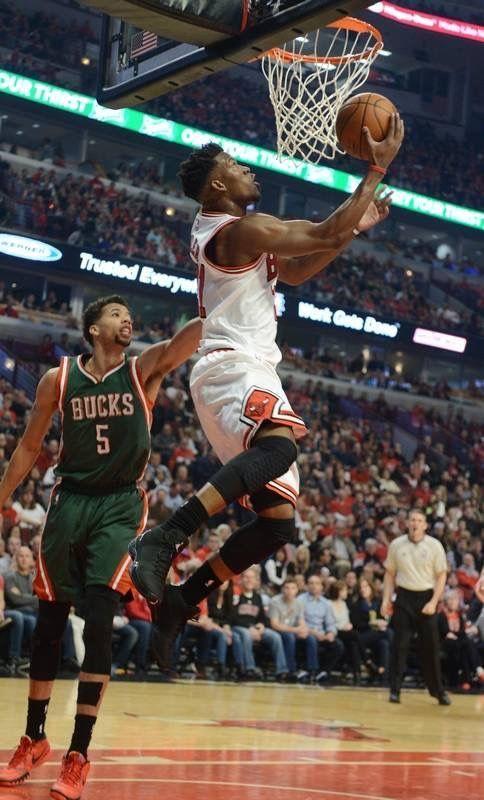 Jimmy Butler Basketball Nba Da Bulls