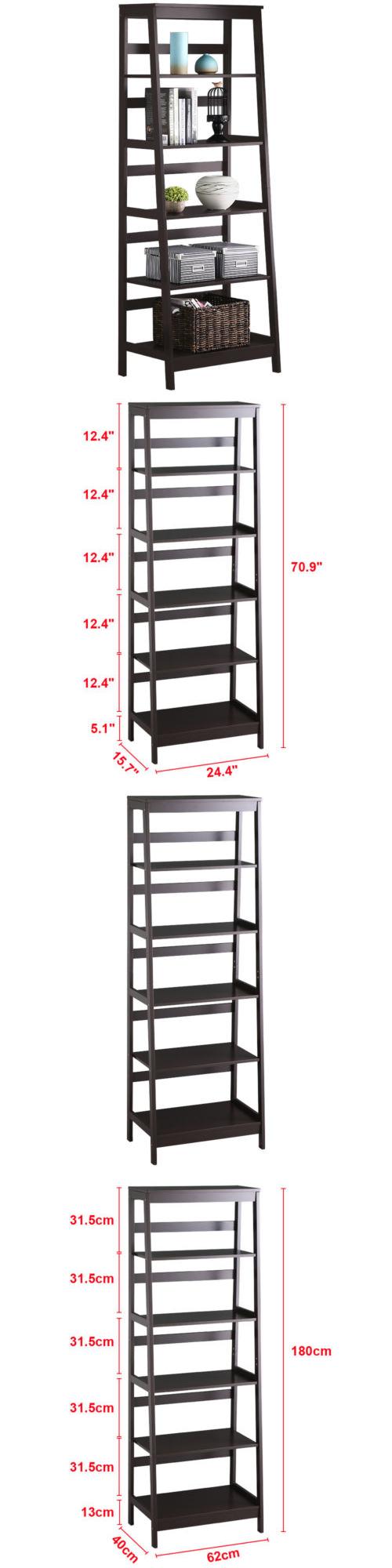 Bookcases tier bookcase bookshelf leaning wall shelf ladder