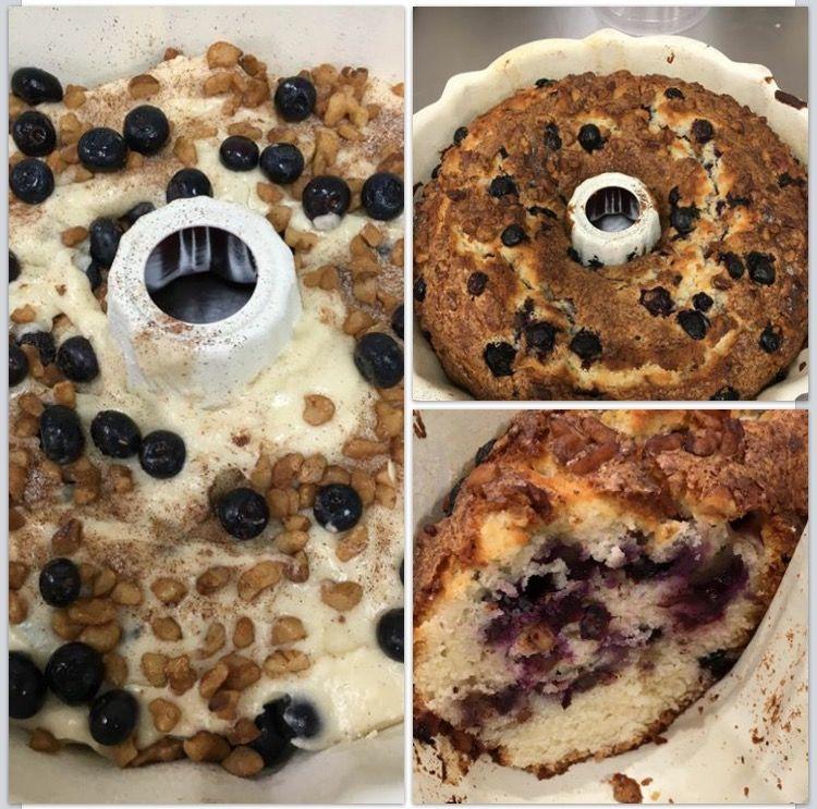 Blueberry coffee cake oooh its soooo good lowes