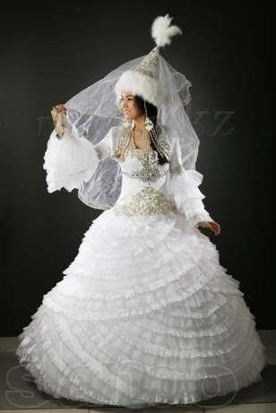 0389f6c7ee1 Казахские национальные свадебные платье
