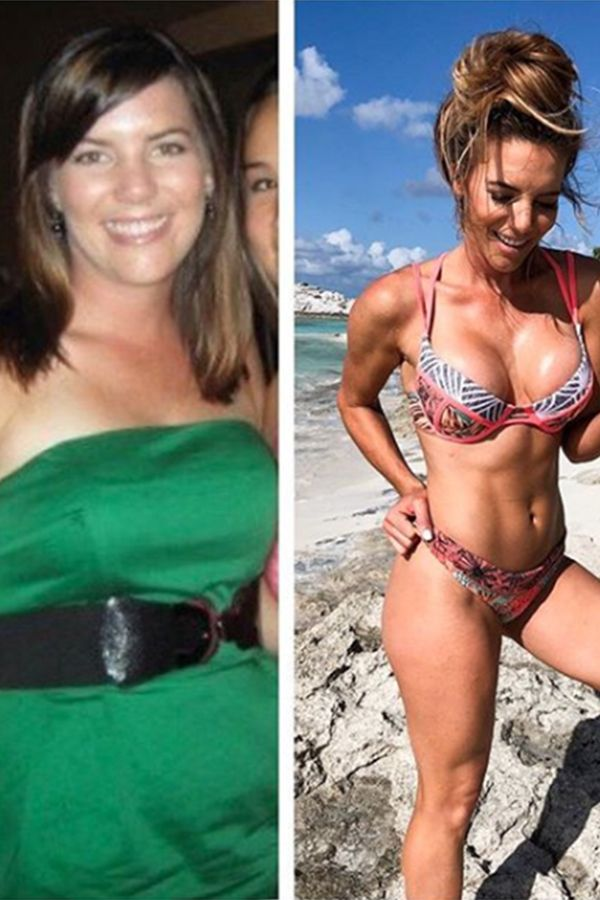 These 10-Year Transformation Photos Prove That Even Trainers Had to Start Somewhere