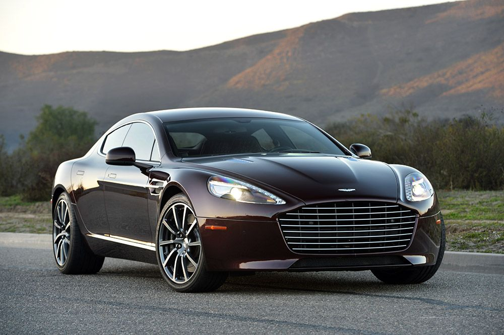 Aston Martin Rapide S. The world's most beautiful 4door