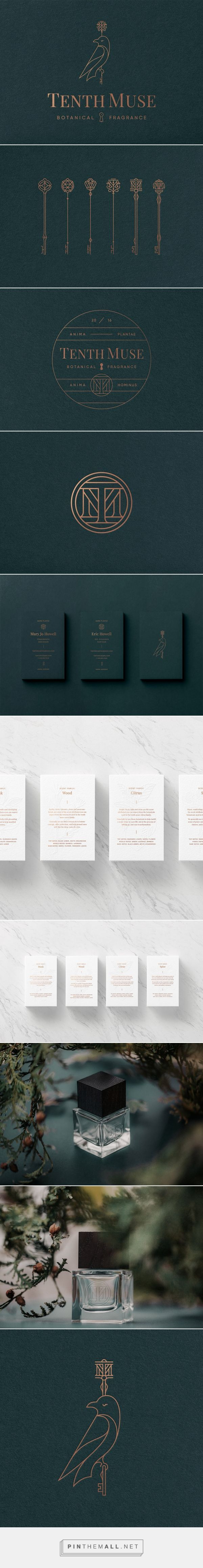Tenth Muse Brand Identity by Studio MPLS | Inspiration Grid | Design Inspiration . Identity Design . Bird . Branding .