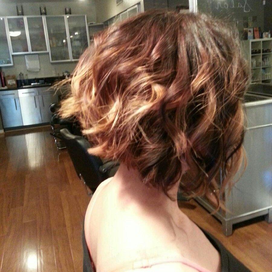 Balayage Highlights and haircut by HairArtisan916