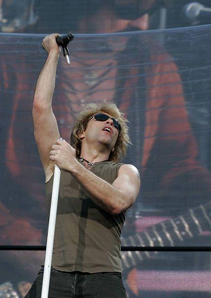Bon Jovi Have A Nice Day Tour At Milton Keynes Bowl In Great