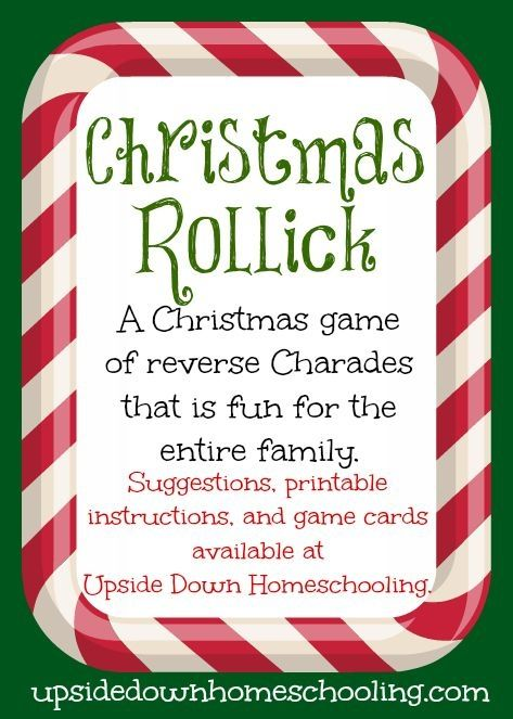 Christmas Rollick: a fun game for the entire family ...