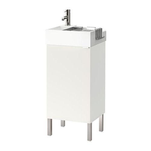 LILLÅNGEN Skab til vask med 1 låge - hvid - IKEA