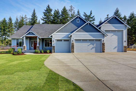 House Home Property Garage Mechanic Collector Shop Realtor Michigan Agent Cars Workshop Garage Exterior Garage Design Ranch House Plans