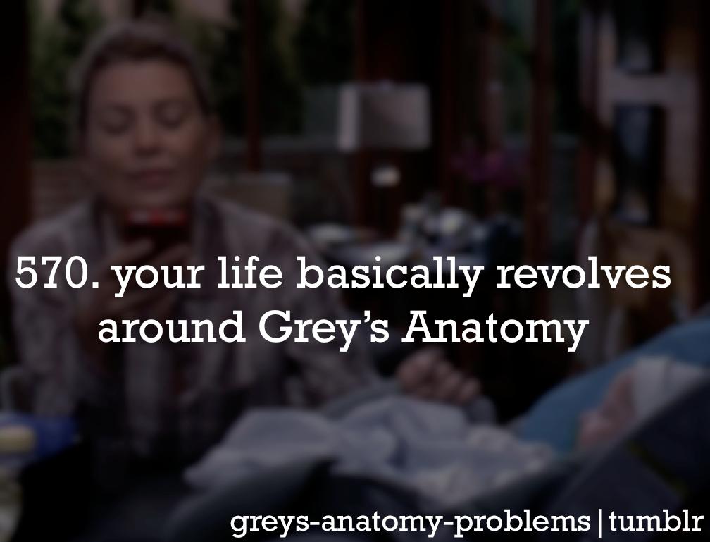 Grey\'s Anatomy Problems: Photo   Grey\'s <3   Pinterest   Gris ...